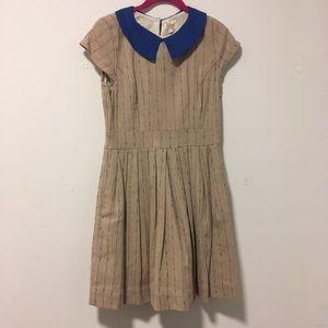 ModCloth Khaki A-Line Dress